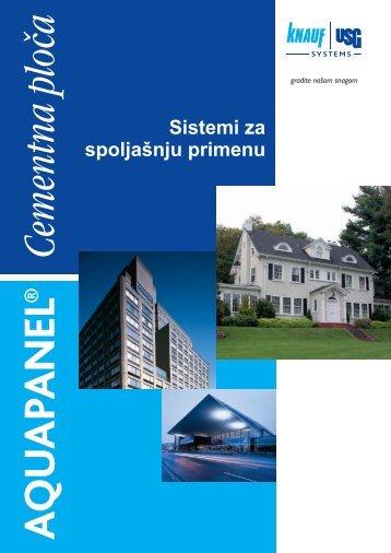 10 vorsatzschale schach for Knauf aquapanel exterior cement board