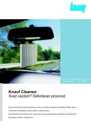 Knauf Cleaneo