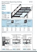 Knauf Free-Spanning Ceiling D131 - Page 4