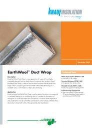 EarthWool™ Duct Wrap - Knauf Insulation New Zealand