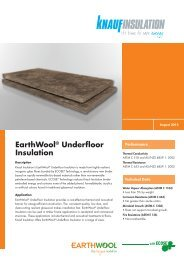 EcoFill® Wx Blowing Insulation for Weatherization - Knauf