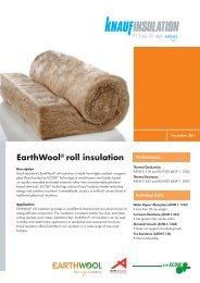 Roof Rolls Datasheet - Knauf Insulation New Zealand