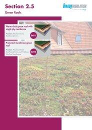 Green Roofs - Knauf Insulation