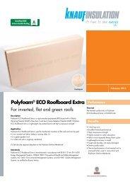 Polyfoam® ECO Roofboard Extra - Knauf Insulation