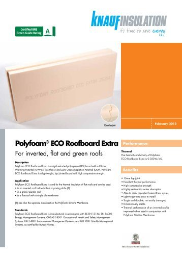 polyfoam eco roofboard cut to falls knauf insulation. Black Bedroom Furniture Sets. Home Design Ideas
