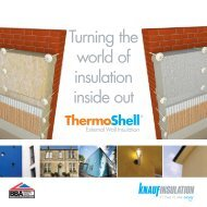 ThermoShell EWI Launch Brochure - Knauf Insulation