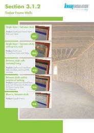 Timber Frame Walls - Knauf Insulation
