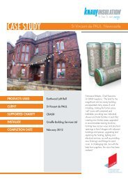 Download PDF of this case study - Knauf Insulation