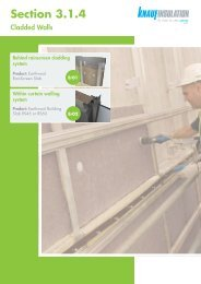 Cladded Walls - Knauf Insulation