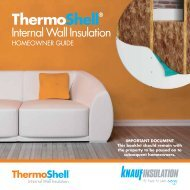 ThermoShell IWI Homeowner Guide - Knauf Insulation