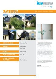 Download a PDF of this case study - Knauf Insulation