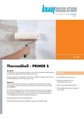 ThermoShell TS Primer S - Knauf Insulation