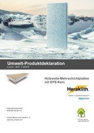 Holzwolle-Mehrschichtplatten mit EPS-Kern - Institut Bauen und ...