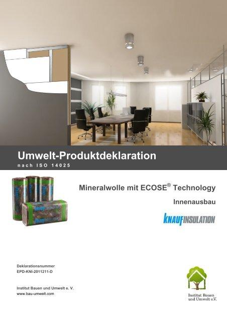 EPD-KNI-2011211-D - Institut Bauen und Umwelt