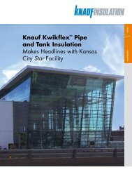 Pdf / 0.85 Mb - Knauf Insulation