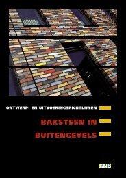 BAKSTEEN IN BUITENGEVELS - KNB