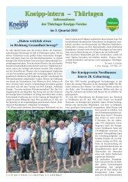 Kneipp-intern – Thüringen Kneipp-intern – Thüringen - Kneipp-Bund ...