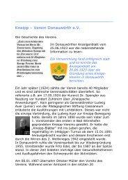 Kneipp – Verein Donauwörth e.V. - Kneipp-verein-donauwoerth.de