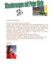 2011_Wanderungen mit Peter Birle - Kneipp-Verein Rosenheim