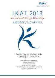 Programm I.K.A.T. - Kneipp-Verein Rosenheim