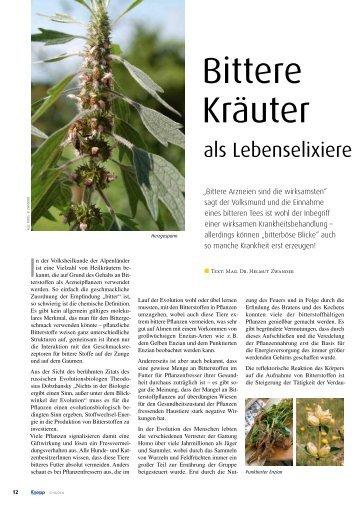 Bittere Kräuter - Kneippbund