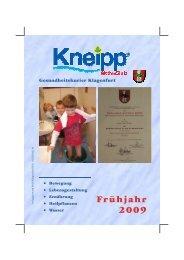 KAC Klagenfurt Programm Frühjahr 2009 - Kneippbund