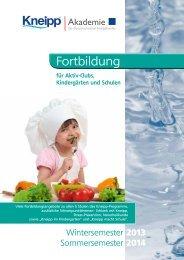 Akademieprogramm 2014 - Kneippbund
