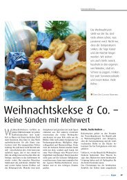 Weihnachtskekse & Co. – - Kneippbund