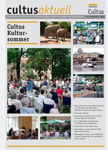 Haus Löbtau aktuell Thema: A nder M aille - Cultus ggmbh Dresden