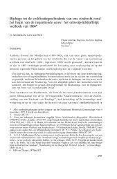 Bijdrage tot de codificatiegeschiedenis van ons strafrecht rond het ...