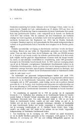 De Afscheiding van 1834 in Friesland, III, De classes Sexbierum ...