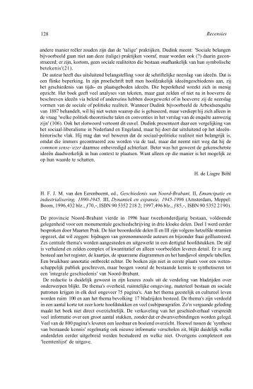 Geschiedenis van Noord-Brabant, III, Dynamiek en expansie 1945 ...