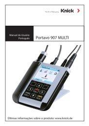 Portavo 907 Multi - Knick Elektronische Meßgeräte GmbH & Co.