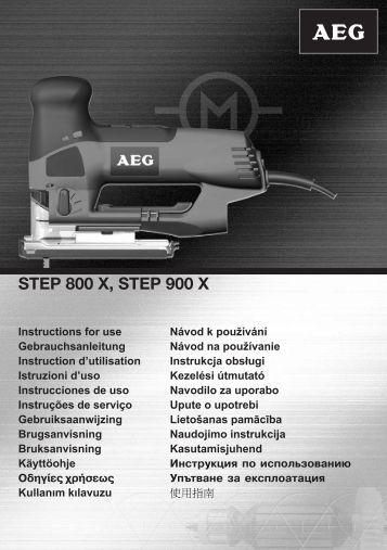STEP 800 X, STEP 900 X