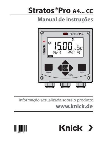 Stratos Pro A4 CC - Knick