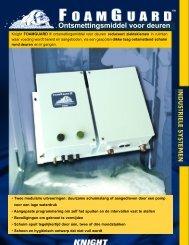 FoamGuard II™ ontsmettingsmiddel voor deuren - Knighteurope.eu