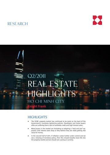 REAL ESTATE Highlights - Knight Frank Real Estate Agent