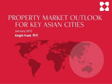 Property market outlook for key Asian gateway cities