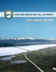 2006 Annual Report - Knik Arm Bridge and Toll Authority