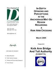 IV - Knik Arm Bridge and Toll Authority