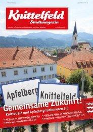 Stadtmagazin Oktober 2013 - Knittelfeld
