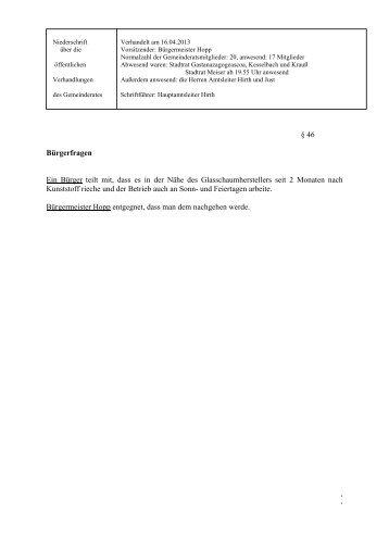 16.04.2013 - Knittlingen