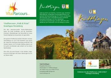 """VitalParcours """"Walk & Wein"""" Kraichgau-Stromberg - Knittlingen"""