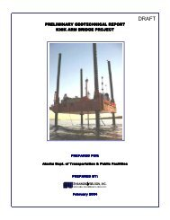 GEOTECHNICAL REPORT - Knik Arm Bridge and Toll Authority