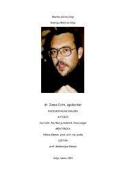 dr. Janez Cvirn, zgodovinar - Osrednja knjižnica Celje