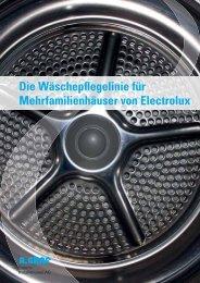 Die Wäschepflegelinie für MFH von Electrolux