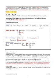 METAR code (nov 2013) - Knmi