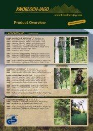 Product Overview - Knobloch-Jagd.de
