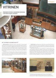 Vitrinen, Produktinformation [PDF 1167 KB] - Knoeppel GmbH