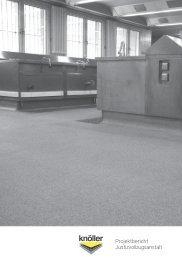 Download Projektbericht - Knöller Fußbodentechnik